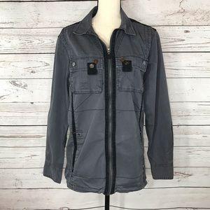 INC International Concepts Jacket Utility Zipper